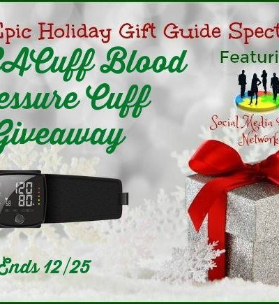 MOCACuff Blood Pressure Cuff Giveaway Ends 12/25