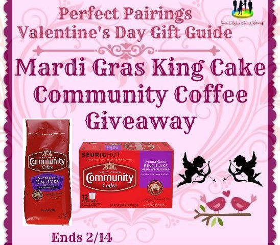 Mardi Gras King Cake Community Coffee Giveaway Ends 2/14