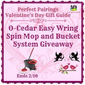 O-Cedar Easy Wring Spin Mop and Bucket System Giveaway Ends 2/10