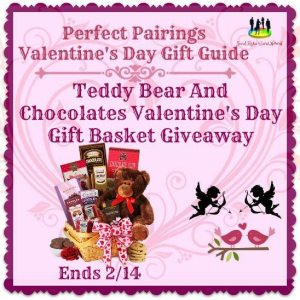 Teddy Bear And Chocolates Valentine's Day Gift Basket Giveaway Ends 2/14