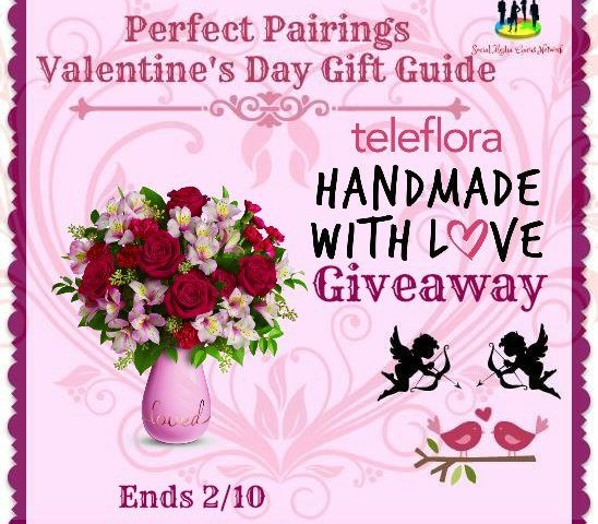 Teleflora Handmade With Love $75 Gift Certificate Giveaway Ends 2/10