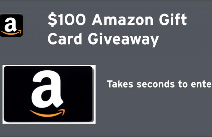$100 Amazon Gift Card Giveaway !