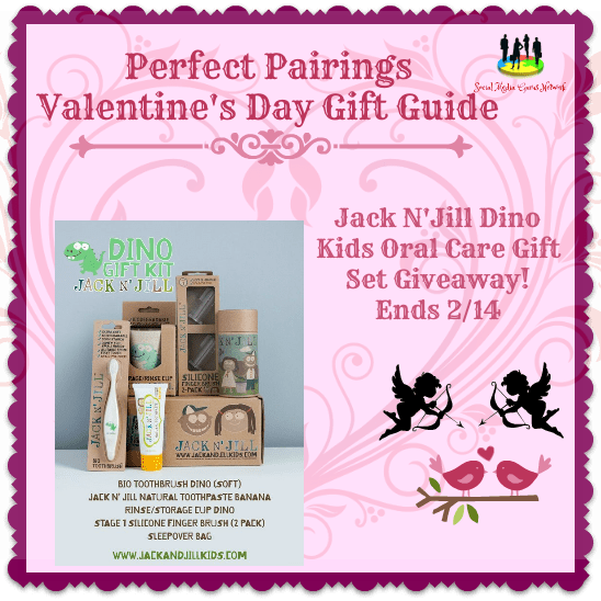 Jack and Jill Dino Kids  Oral Care Gift Set Giveaway