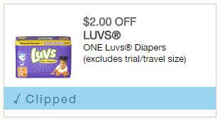 Save NOW on Luvs! #SharetheLuv