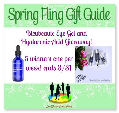 Spring Fling Le Beaute Skin Care Giveaway