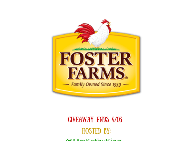 $100 Foster Farm Products Giveaway!