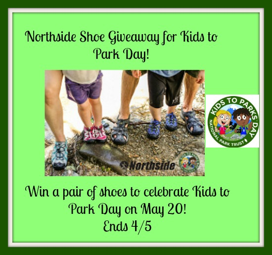 Northside Shoe giveaway for Kids to Park Day!