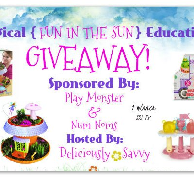 """Magical """"Fun In The Sun""""Educational Giveaway ~ 1 Winner (Ends 6/16) @officialnumnoms @PlayMonsterFun"""