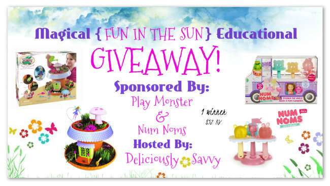 "Magical ""Fun In The Sun""Educational Giveaway ~ 1 Winner (Ends 6/16) @officialnumnoms @PlayMonsterFun"