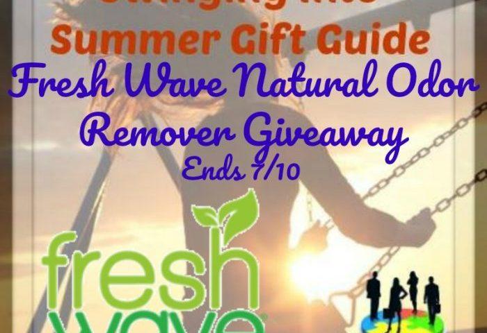 Fresh Wave Natural Odor Remover Giveaway Ends 7/10