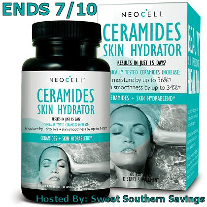 Summer's Here! NeoCell Ceramides Skin Hydrator Giveaway