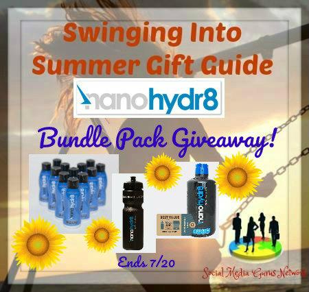 Nanohydr8 Bundle Pack Giveaway! @nano.hydr8 @SMGurusNetwork