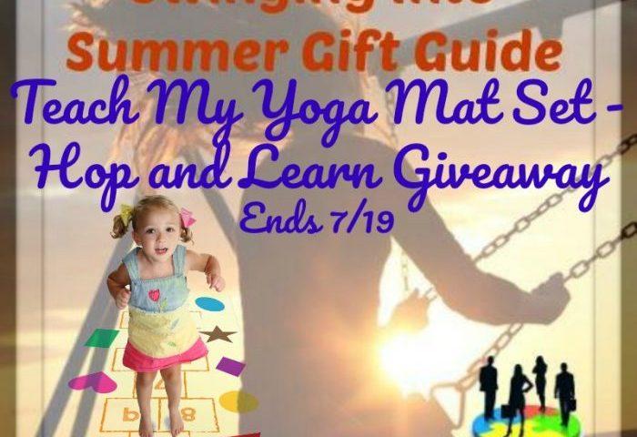 Teach My Yoga Mat Set – Hop and Learn