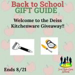 Deiss Kitchenware Giveaway!! Ends 8/21