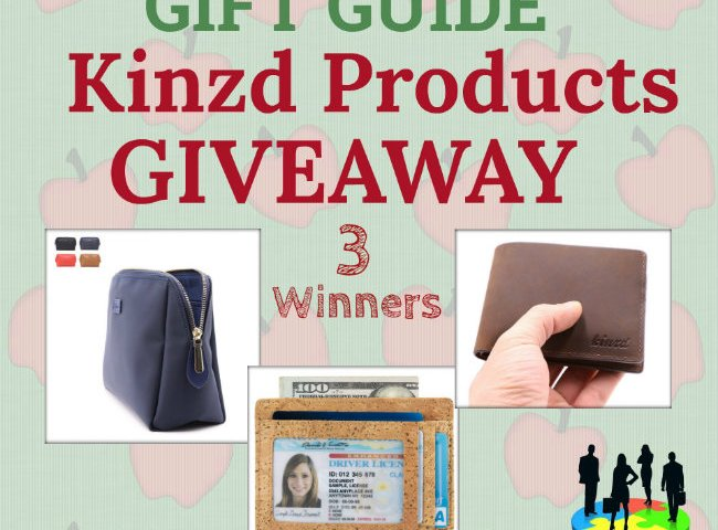 Kinzd Products Giveaway (3 Winners)