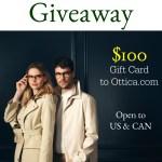 $100 Ottica.com Giveaway!