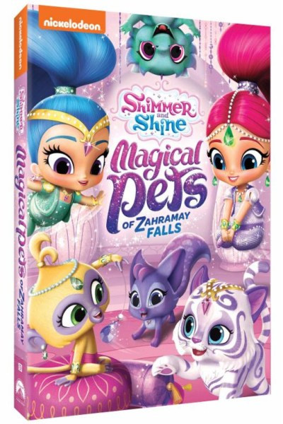 Shimmer and Shine Magical Pets DVD! Releases TODAY!!!