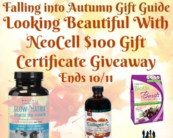 Looking Beautiful With NeoCell $100 Gift Certificate Giveaway