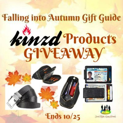 Falling Into Autumn Kinzd Products Giveaway (3 Winners