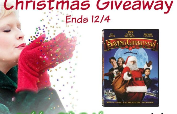Lionsgate Saving Christmas Giveaway Ends 12/4