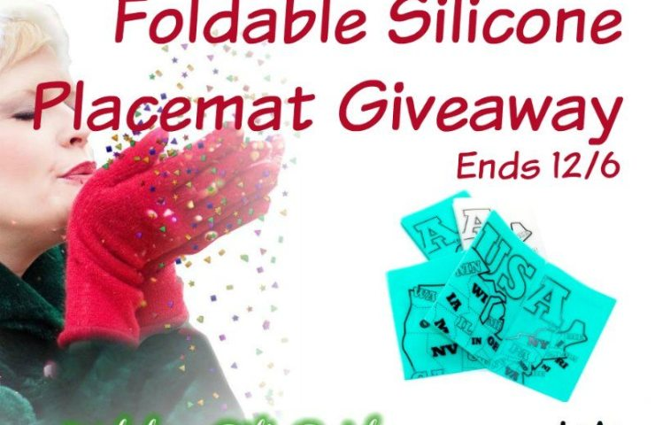 The Silimap® – Foldable Silicone Placemat Giveaway Ends 12/6
