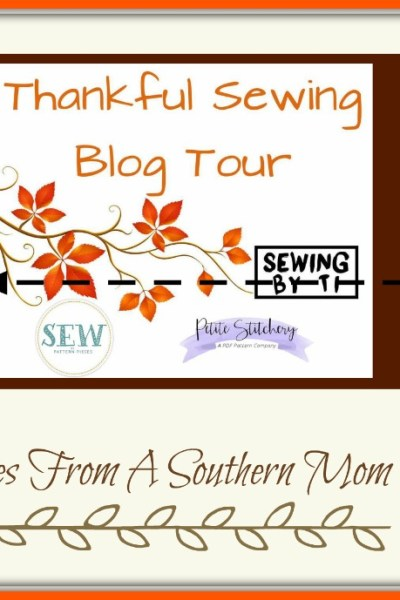 Thankful Sewing Blog Tour Holiday Sewing!