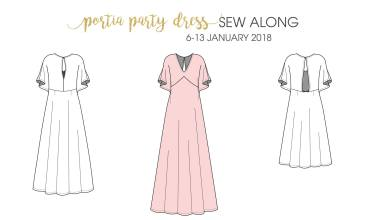 Portia Party Dress with Fabric from Simply by Ti