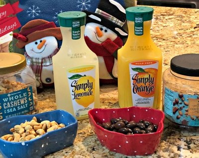 Ho Ho Holiday Punch with Simply Beverages