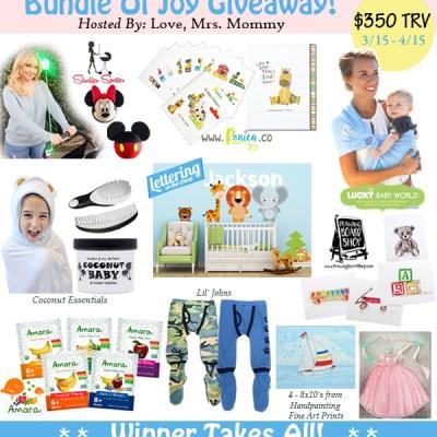 Bundle of Joy Giveaway! $350 in Prizes!