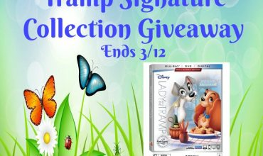 Disney's Lady and the Tramp Signature Collection Giveaway