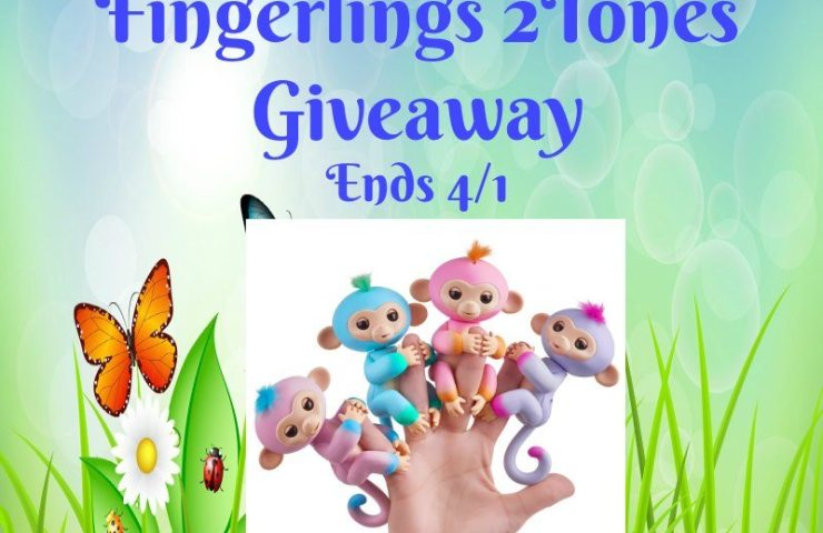 Easter Colors Fingerlings Giveaway Ends 4/1