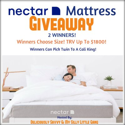 NECTAR Mattress Giveaway