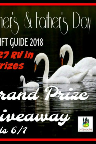 Mother's and Father's Day Grand Prize Giveaway Ends 6/1