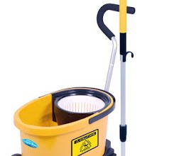 HURRICANE PROFESSIONAL SPIN MOP W. DOLLY SYSTEM GIVEAWAY
