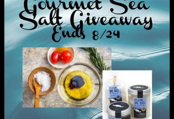 Louis Sel Gourmet Sea Salt Giveaway Ends 8/24