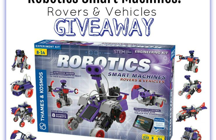 Robotics Smart Machines: Rovers & Vehicles Giveaway [$135 RV] Ends 8/27 @SMGurusNetwork @ThamesAndKosmos