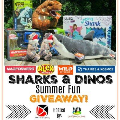 Sharks & Dinos Summer Fun Giveaway