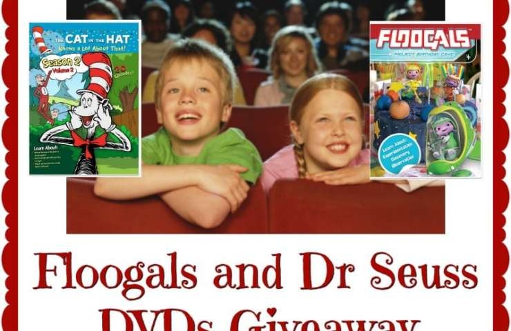 Floogals and Dr Seuss DVDs Giveaway Ends 10/14