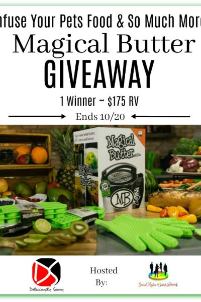 Infuse Your Pets Food & So Much More Magical Butter Giveaway (1 Winner ~ $175 RV) Ends 10/20