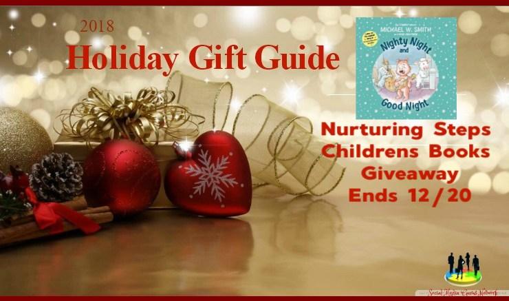 Nurturing Steps Children's Books Giveaway! 12/20