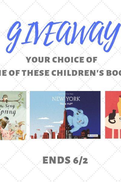 Prestel Publishing Children's Book Giveaway Ends 6/2