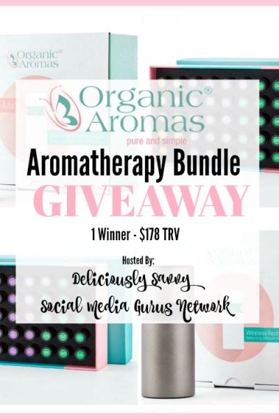 Organic Aromas Aromatherapy Bundle Giveaway