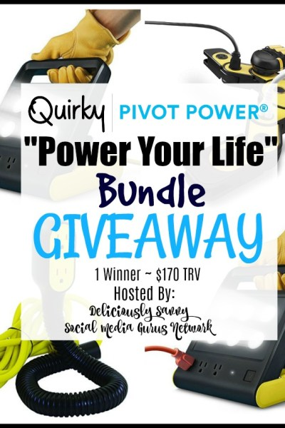 """Quirky Power Pivot """"Power Your Life"""" Bundle Giveaway"""