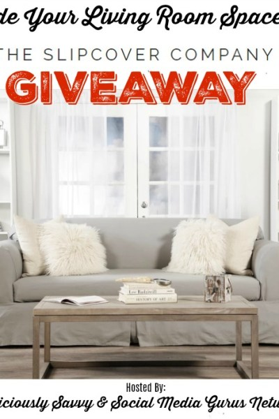 Upgrade Your Living Room Space With The Slip Cover Company Giveaway
