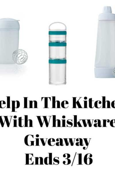 Help In The Kitchen With Whiskware Giveaway Ends 3/16