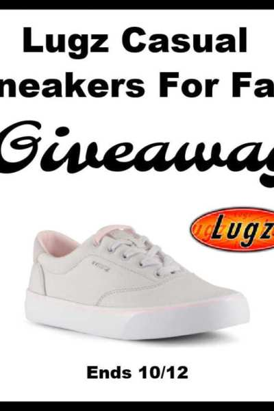 Lugz Casual Sneakers For Fall Giveaway