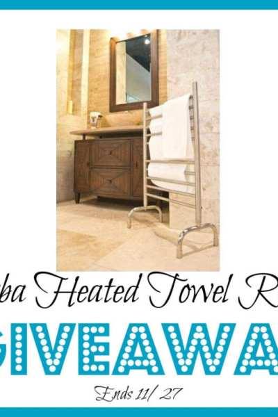 Amba Heated Towel Rack Giveaway