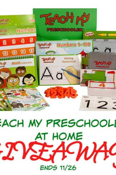 Teach My Preschooler At Home Giveaway