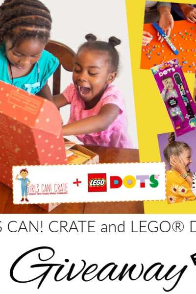 GIRLS CAN! CRATE/LEGO® DOTS Giveaway