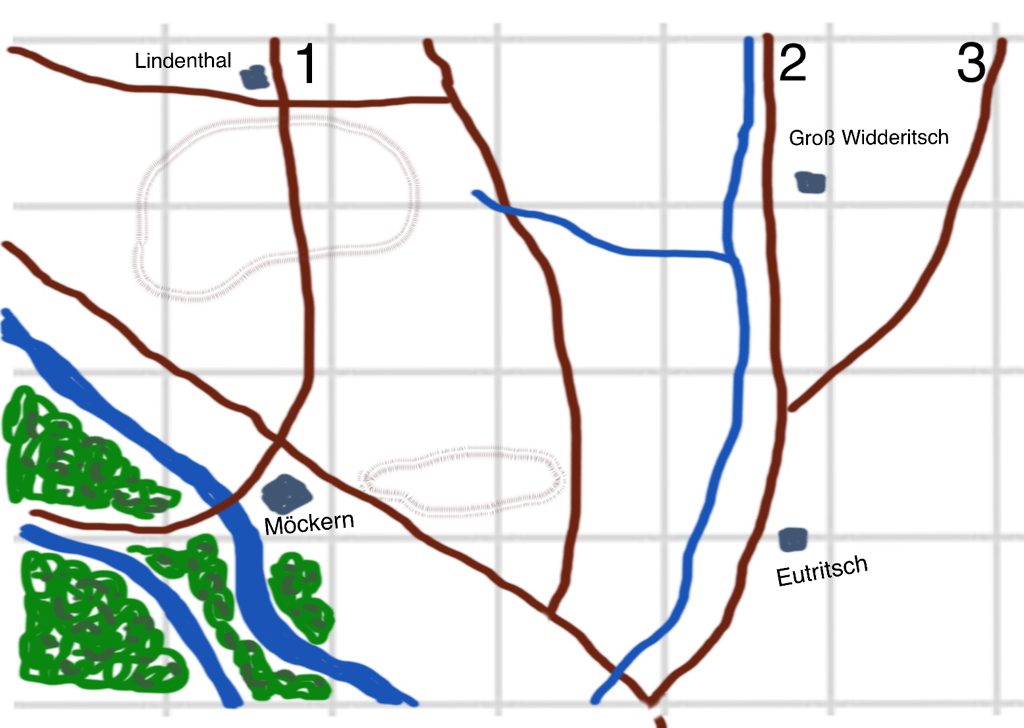 Blücher reprise: the Battle at Möckern, 16/10/1813
